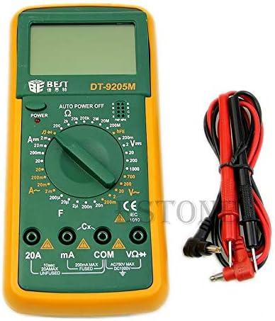 fatteryu DT9205M Digital Voltmeter Multimeter Ohmmeter Ammeter Capacitance Tester LCD New