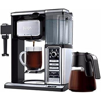 Ninja Cafetera CF090CO 50 oz. Filtro de vidrio reutilizable (reacondicionado certificado)