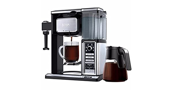 Amazon.com: Ninja Coffee Maker Bar cf090co espumador de 50 ...