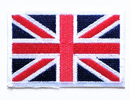 - HHO British Union Jack National Flag Patch Embroidered DIY Patches, Applique Sew Iron on for Everyone Craft Patch for Bags Jackets Jeans Clothes Patch Jacket T-Shirt Sew Iron on Costume