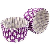 Tala Spot Baking Cup (32 Pack), Purple/White