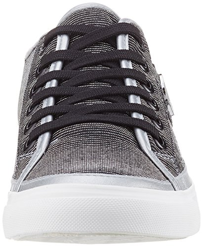 Armani Jeans Women's 9252267p615 Trainers Multi-colored (Argento) ZBDrWhn6