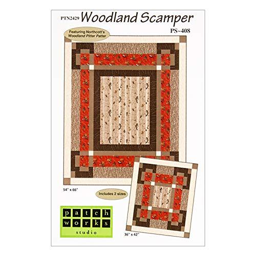 (Northcott Woodland Pitter Patter Woodland Scamper Pattern)