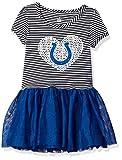 "NFL Toddler ""Celebration"" Sequin Tutu Dress-Black-2T, Indianapolis Colts"
