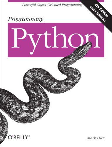 Download Programming Python Pdf
