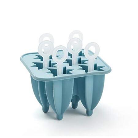 Compra 8HAOWENJU Bandeja de hielo de silicona, Molde de cubitos de ...