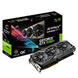 ASUS ROG-STRIX-GTX1080TI-O11G-GAMING GeForce 11GB OC Edition VR Ready 5K HD Gaming HDMI DisplayPort DVI Overclocked PC GDDR5X Graphics Card