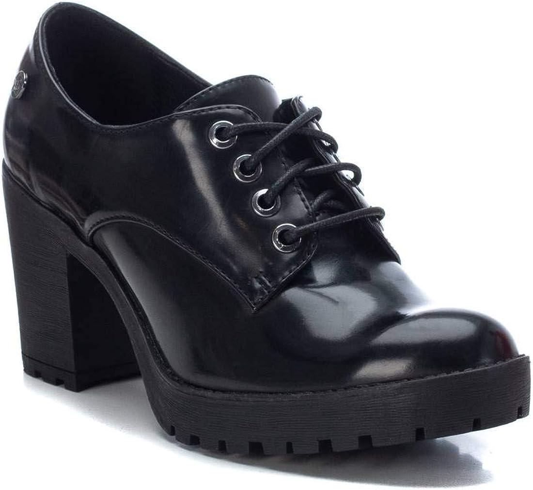 XTI Zapato Oxford para Mujer Cierre con Cordones