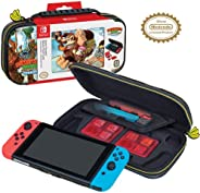 Officially Licensed Nintendo Switch Donkey Kong Carrying Case – Protective Deluxe Travel Case - Game Case Incl