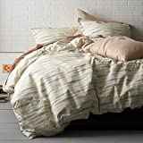 Cstudio Home Helix Organic Percale Duvet Cover King
