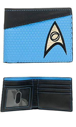 Series Media Wallet - Star Trek Blue Bi-Fold Wallet