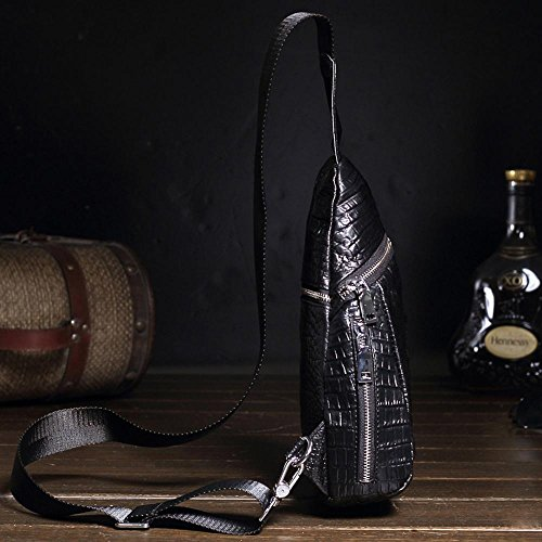 Shoulder theft Leather Single Travel Foot School Bag Waterproof Haixin amp; Man Anti Bw6xTRqTA5