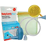 BabyComfy Nasal Aspirator - The Snotsucker - Hygienically & Safely Removes Baby's Nasal Mucus – Blue