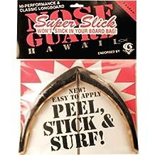Surfco Hawaii Super Slick Classic Longboard Black Nose Guard Kit by Surfco Hawaii