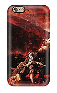Protective Tpu Case With Fashion Design For Iphone 6 (monster Hunter Video Game Other) by lolosakes
