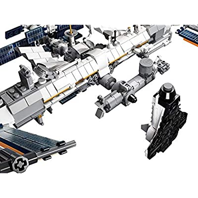 LEGO Ideas International Space Station White: Toys & Games