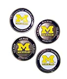 (4) Michigan Wolverines Golf Ball Markers