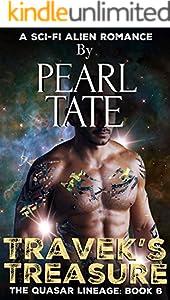 Travek's Treasure - A Sci-Fi Alien Romance: The Quasar Lineage Book 6