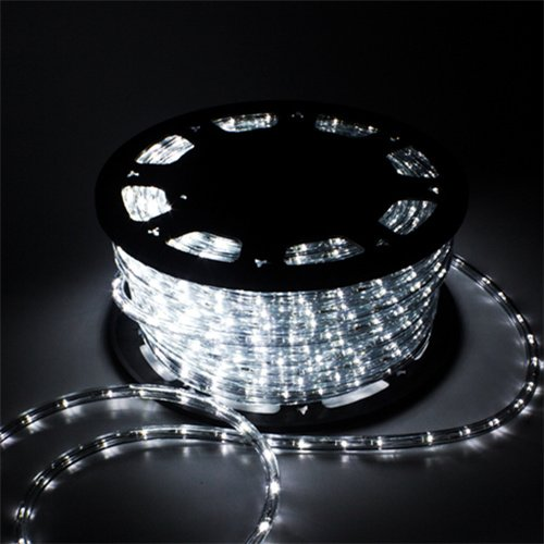 Rope 150' (Ainfox LED Rope Light, 150Ft 1620 LEDs Indoor Outdoor Waterproof LED Strip Lights Decorative Lighting (cool white))