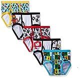 LEGO Little Boys' 5-Pack Ninjago Brief Underwear, Ninjago-Multi, 6