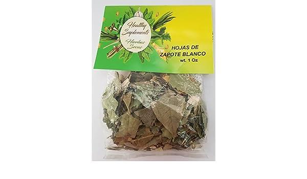 Amazon.com: Hojas de Zapote Blanco 1 oz: Health & Personal Care