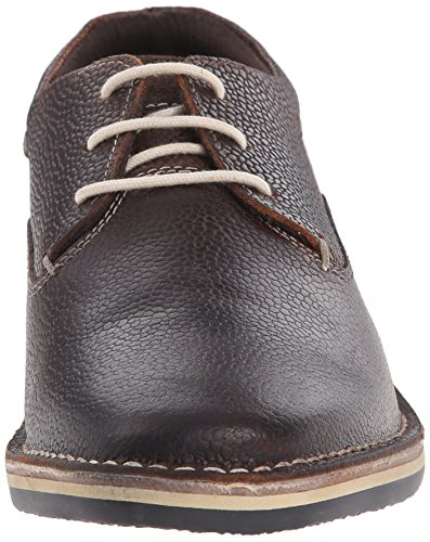 Steve Madden Mens Healer-A Oxford Brown Embossed