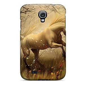 New Tpu Hard Case Premium Galaxy S4 Skin Case Cover(¡éa¡é£¤unicorn In Fairy Tales¡éa¡é£¤)