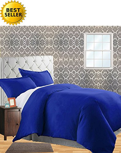 Royal Blue Comforter - 5