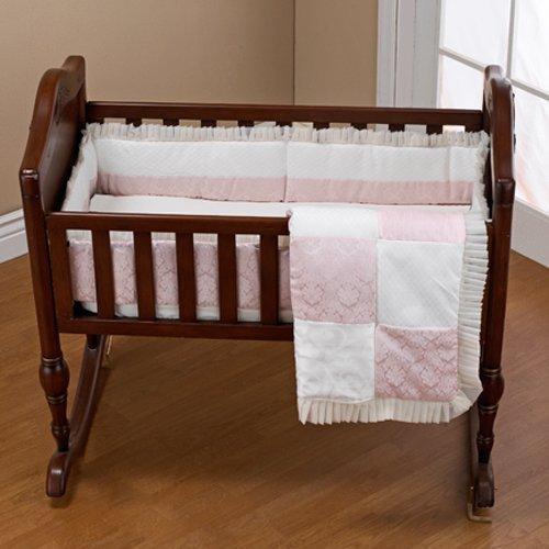 Baby Doll Bedding Queen Mini Crib/ Port-a-Crib Set, Pink