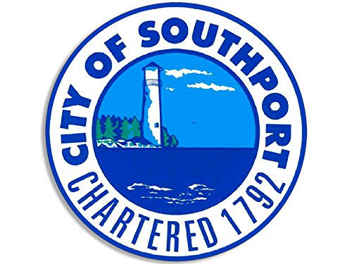 Southport North Carolina City Seal Sticker (decal logo (North Carolina Seal)