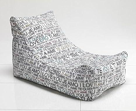 Idea Puf Puf a Saco, sillones Design: Amazon.es: Hogar