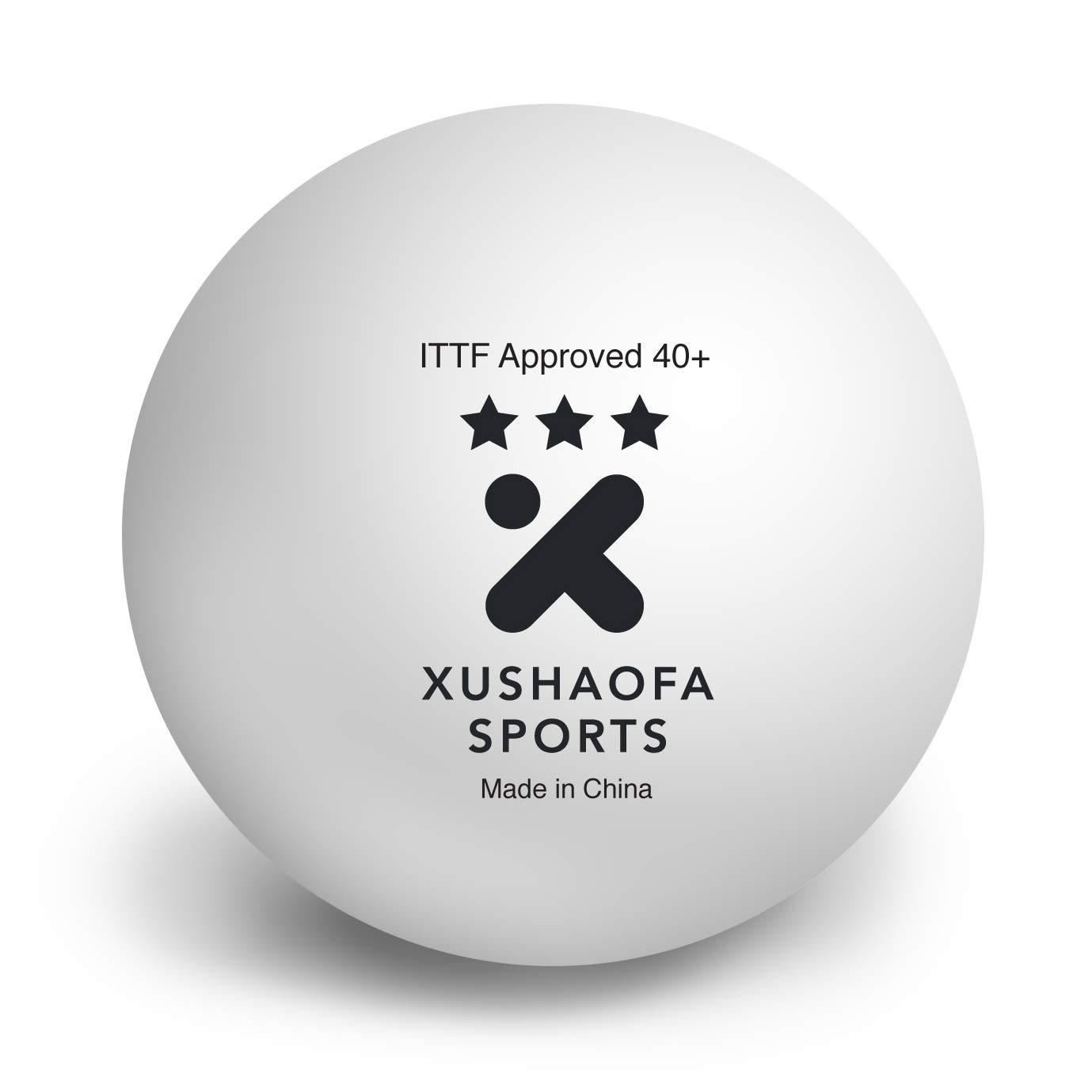 Xushaofa/XSF 3 Sterne nahtlose Tischtennisbälle