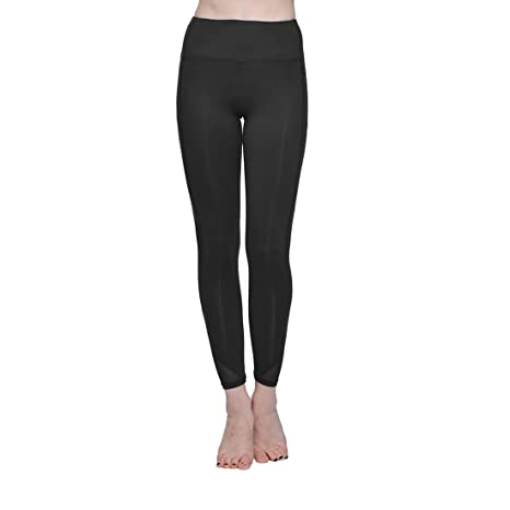 18203e0a363520 Amazon.com: ONGASOFT Yoga Pants for Women Fitness Mesh Workout Legging:  Sports & Outdoors