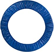 Upper Bounce Round Foldable Trampoline Safety Pad (Spring Cover) for 6 Legs, Blue