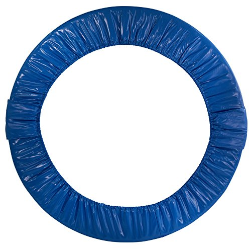 upper bounce blue round foldable