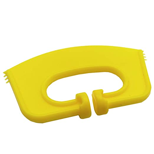 Yellow Large Plastic Cattle Weaner 3 Pack