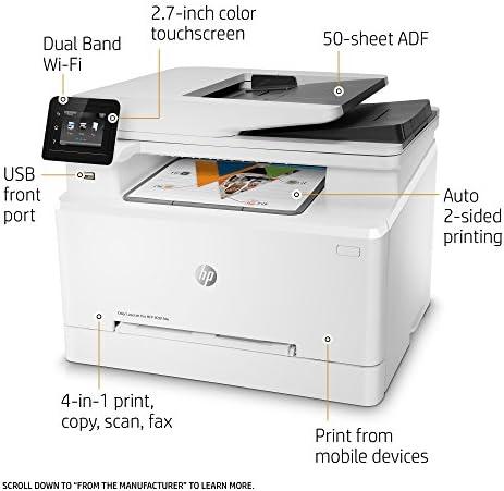 HP LaserJet Pro M281fdw All in One Wireless Color Laser Printer, Amazon Dash Replenishment Ready (T6B82A)