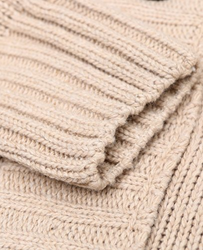 Knitting Items In Dubai : Miedeon button point stand collar knitted slim fit