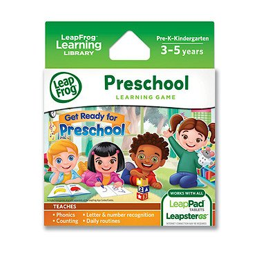 LeapFrog Learning Game: Get Ready for Kindergarten (for L...