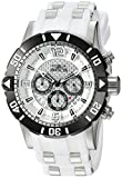 Invicta Men's 'Pro Diver' Quartz Stainless Steel and Polyurethane Diving Watch, Color:Two Tone (Model: 23697)