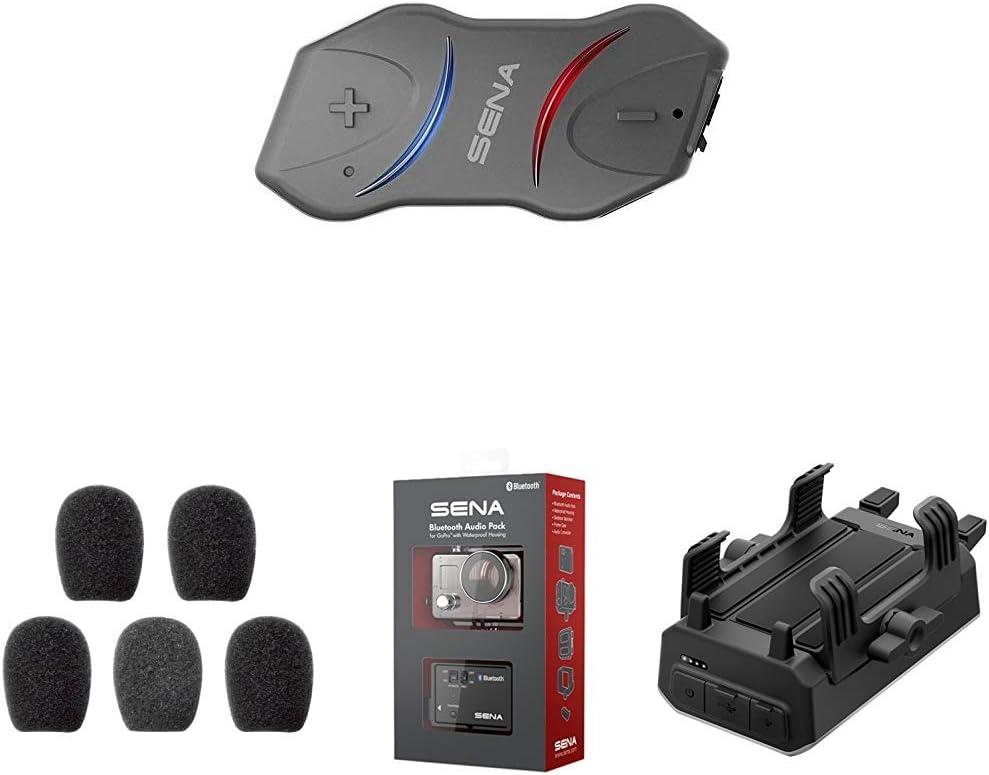 Sena 10r 01 Flaches Bluetooth Headset Und Sprechanlage Sc A0109 Mikrofonaufsätze Gp10 02 Bluetooth Audio Pack Zubehör Powerpro 01 Powerpro Handlebar Auto
