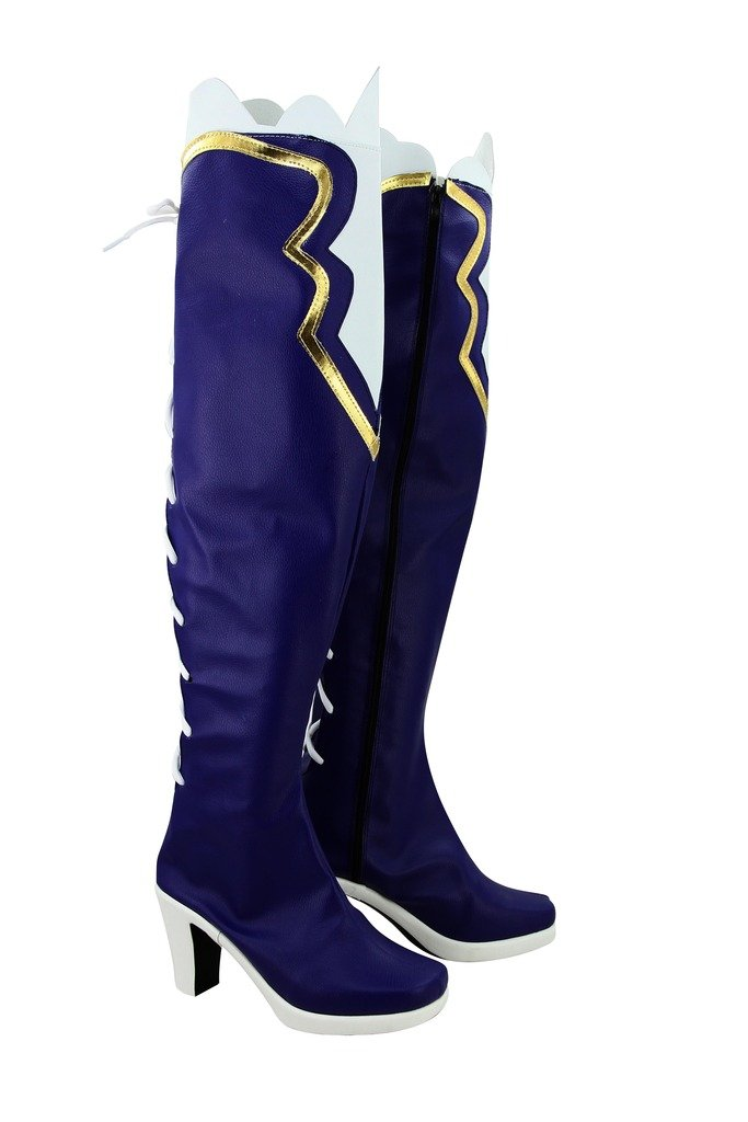 Telacos Choujigen Game Neptune Game Noire Cosplay Shoes Boots Custom Made
