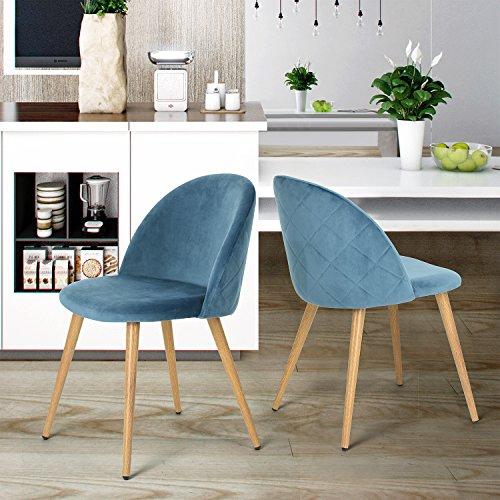 coavas Dining Stühle Soft Sitz und Rücken Küchenstühle mit Holz Stil ...
