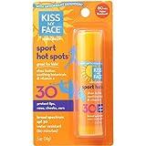 Kiss My Face SPF 30 Hot Spots Sunscreen: 0.5oz Stick (2 Pack)