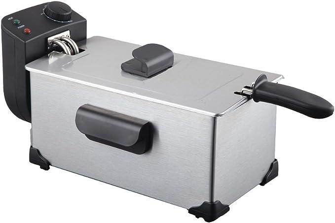 Jocca 5519 Freidora, 3 l, color plata, 2200 W, Acero inoxidable ...
