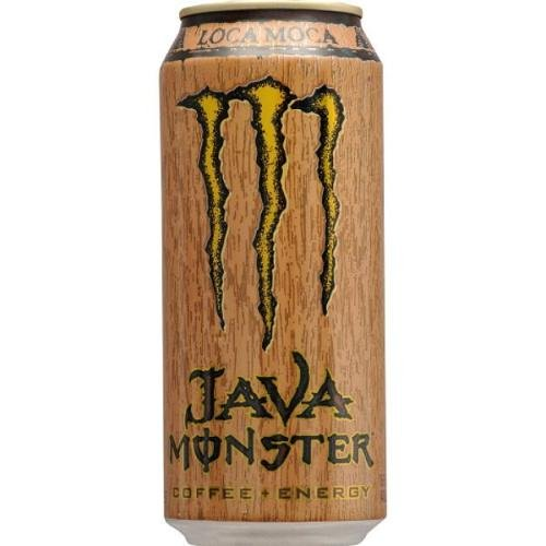 - Java Monster Coffee + Energy Drink, Loca Moca, 15-Ounce Cans (Pack of 6)