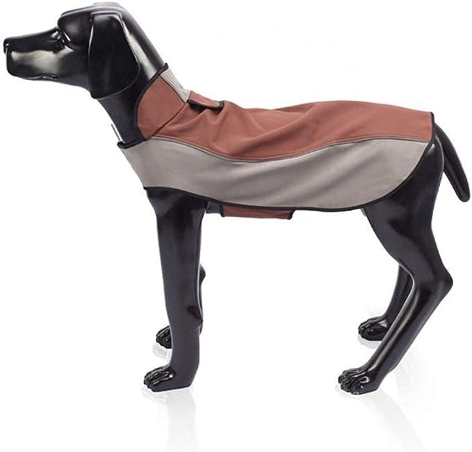A Hundeschutz Regen M/äntel F/ür Hunde Hunde Regenmantel Mit Kapuze Welpen Au/ßen Regen Poncho Mit Reflektierenden Streifen F/ür Kleine N Mittlere Gro/ße Hunde