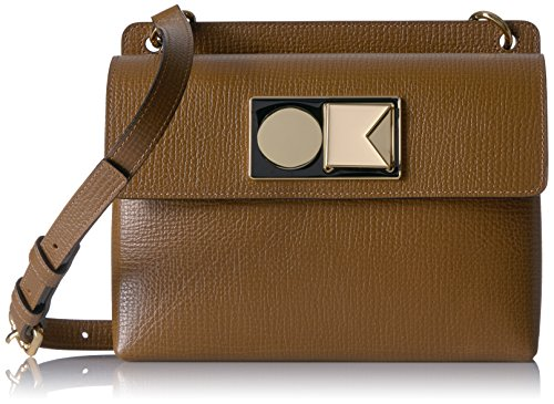 Textured Robin Bag Nutmeg Leather Orla Kiely naBS8ZB6