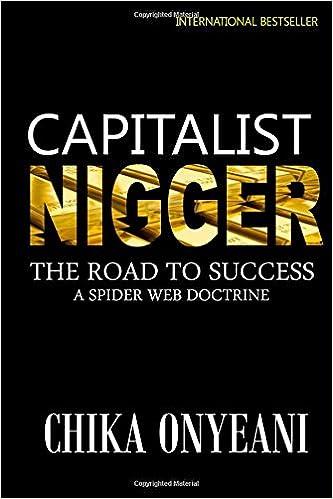 THE CAPITALIST NIGER EBOOK
