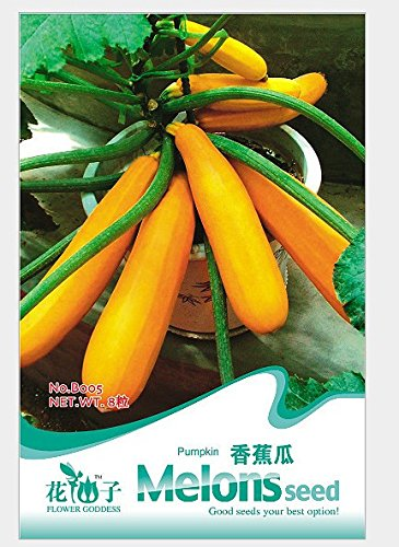 Banana melon seeds, vegetable seeds, edible come - 8 particles